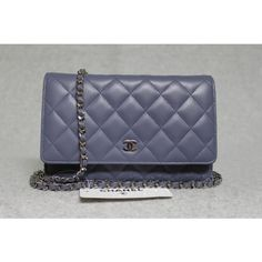 Chanel 2012C Lavender Quilted Lambskin Wallet On a Chain Bag - Sold Out in Stores