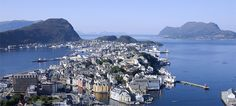 The city of Ålesund, Norway - Photo: Terje Rakke/Nordic Life/Destination Ålesund & Sunnmøre