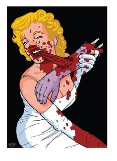 ZOMBIE/Marilyn Monroe