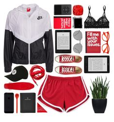 """""""Smile- Mikky Ekko"""" by vxrtues ❤ liked on Polyvore featuring MITU, NIKE, Converse, Topshop, Elizabeth and James, Urbanears, FOSSIL, Tina Frey Designs, NLY Accessories and Lux-Art Silks"""
