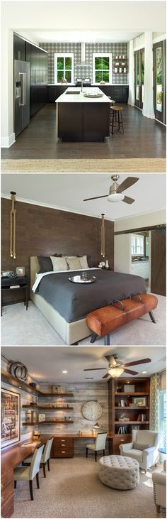 Accent Walls Add Character And Personality To Any Room Whether You Choose Wood Pieces Or