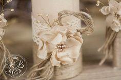 Vela boda personalizada ceremonia de la unidad pilar unidad