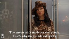 Cookie Lyon calls it like she sees it.