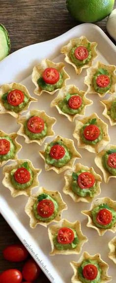 Awesome Appetizer Recipes for your next party. Do not host another holiday party or event without checking out these easy appetizer recipes that are so good Gluten Free Appetizers, Easy Appetizer Recipes, Potluck Recipes, Yummy Appetizers, Keto Recipes, Cooking Recipes, Gluten Free Chips, Low Carb Keto, Sweet Treats