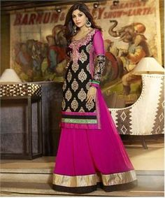 Faux Georgette Suit with Dupatta   I found an amazing deal at fashionandyou.com and I bet you'll love it too. Check it out!