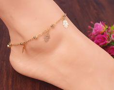 chapado en color dorado http://www.beads.us/es/producto/Tobillera-de-hierro_p344176.html?Utm_rid=163955