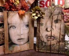 q picture tranfer on wood, crafts, how to, repurposing upcycling, woodworking projects