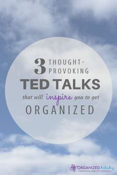 3 thought-provoking TED Talks That Inspire You To Get Organized Detox Kur, Stephen Covey, Read Later, Self Development, Personal Development, Getting Organized, Thought Provoking, Self Improvement, Self Help