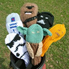 65 Best Golf Club Head Covers Images In 2018 Crochet Patterns