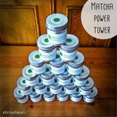 MatchaMoments - der Power Tower ;) Gefunden im Koumei Matcha Blog: http://www.koumei-matcha.de/matcha-moments/  #Matcha #MatchaMoments #Power #Energy