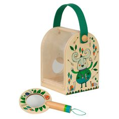 Little Thoughtful Gardener Bug Box and Magnifying Glass set for children, published by Bobby Rabbit Bug Hotel, Beetle Bug, Bird Houses, Wood Crafts, Gifts For Kids, Bugs, Lunch Box, Kids Shop, Children