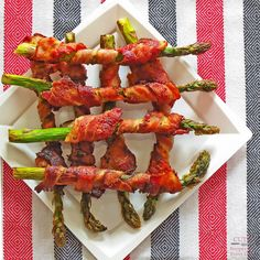 Picnic Foods #2: Bacon-Wrapped Asparagus - Cuts: Recipes for Every Day