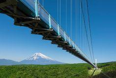 MISHIMA SKY WALK TEM 400 METROS E FICA EM MISHIMA, NA PROVÍNCIA DE SHIZUOKA