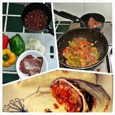 Colombian burritos