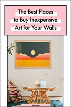 Best Places to Buy Art: Urban Outfitters #affordable #art #homedecorating #cheapart #urbanoutfitters