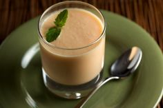 Chilled Ginger Cantaloupe Soup.... one I think I'll have to try. It may just be my next loved breakfast food.