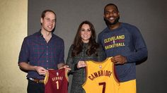 See Prince William & Kate Meet Beyonce & Jay Z Courtside