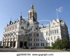 """""""Connecticut State Capitol"""" -Connecticut Stock Photo from gograph.com"""