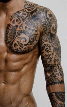 Eyes wide open #marquesantattoosblack #marquesantattoosink #polynesiantattooschest