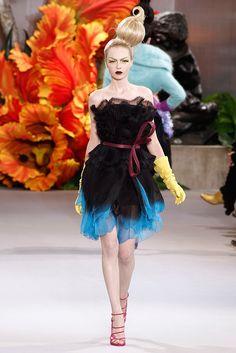 Christian Dior Fall 2010 Couture Fashion Show - Siri Tollerød