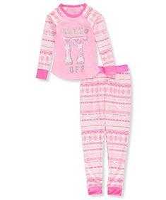 dELiA*s Girls Printed Thermal Pajamas (Warm Underwear Top and Pants) #dELiA*s #Girls #Printed #Thermal #Pajamas #(Warm #Underwear #Pants)