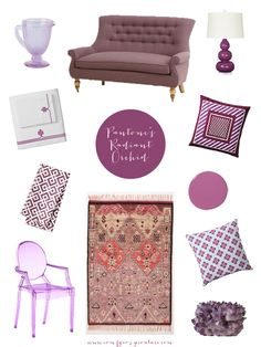 Comfy Cozy Couture: Pantone Color of the Year 2014 | Pantone 2014: Radiant Orchid