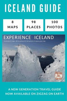 The new travel guide is here! Discover how it can help you plan your trip and make the most of your time in Iceland! It includes 8 maps, 98 locations, 100 photos and detailed and practical planning information