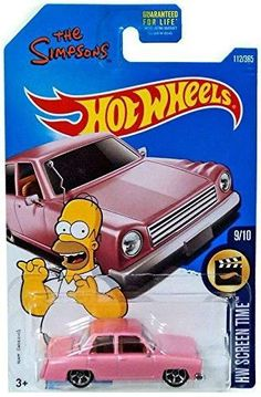 Just in Hot Wheels HW Scr... ! http://maz-deal.myshopify.com/products/hot-wheels-hw-screen-time-the-simpsons-family-car-112-365-pink?utm_campaign=social_autopilot&utm_source=pin&utm_medium=pin
