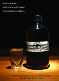 the pickleback with mcclure's pickle brine