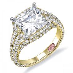 Princess Cut Engagement Ring - DW5452