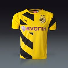 PUMA Borussia Dortmund Youth Home Jersey 14/15 | SOCCER.COM