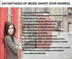 14 reasons why to love being petite!