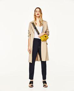 изображение 1 из БРЮКИ СО ШНУРКАМИ от Zara