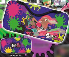 cff6d974f3 QUICK POUCH COLLECTION for Nintendo Switch (splatoon2) Type-A by KeysFactory