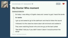 Dr Who and the Nerds