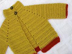 baby sweater (free pattern)