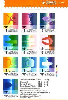 Postzegels Holland