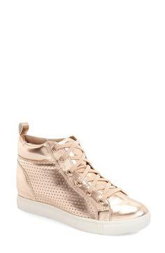 Steve Madden 'Latte' Hidden Wedge Sneaker (Women) available at #Nordstrom