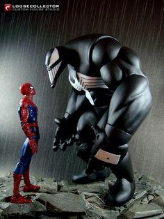 Venom : Sam Keith Style (Marvel Legends) Custom Action Figure: