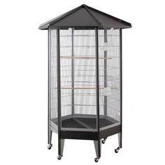 HQ Hexagonal Aviary Bird Cage