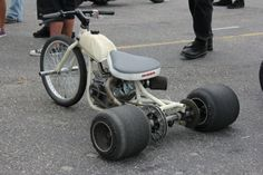Not sure what to call this, a mini trike? Whatever....but my little kids are gonna love it!