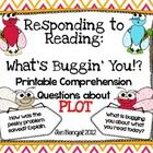 Included in this download are 10 questions about plot.  The questions are written on printable question cards in color and black & white, as we...