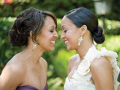 75 Stunning African American Wedding Hairstyle Ideas for Memorable Wedding - VIs-Wed Black Bridesmaids Hairstyles, Bride Hairstyles, Hairstyles With Bangs, Hairdos, Latest Hairstyles, Black Hairstyles, Afro Hairstyles, Natural Wedding Makeup, Wedding Makeup Looks