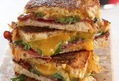 This dressed-up grilled cheese sandwich includes savory bresaola and bright Dijon mustard, creating a rich and bold flavor.