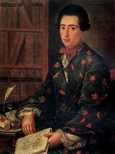 Hеизвестный художник второй половины XVIII века Портрет А.Я. Протасова.Холст, масло. 91 х 69