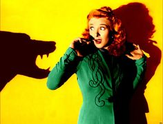 Colorized Evelyn Ankers from The Wolfman