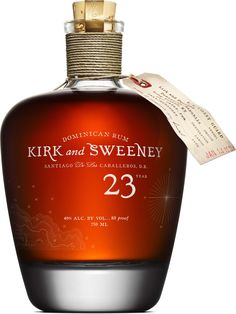 """Kirk and Sweeney was the name of a wooden schooner that was best known for smuggling rum from the Caribbean to the United States during Prohibition,"""" says August Sebastiani, President of 35 Maple Street Distillery. Just before it entered the territorial waters of the United States, the schooner would drop anchor and sell the rum to smaller boats which would come up alongside the Kirk and Sweeney."""