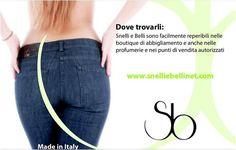 Vuoi richiedere anche tu i jeans brevettati anticellulite Snelli? Contattaci all'indirizzo info@snelliebellinet.com per sapere dove poterli acquistare o clicca quì per effettuare il tuo acquisto online: http://snelliebellinet.com/shop/jeans-cosmetico-anticellulite/