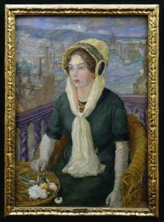 Painting in Sigrid Undset's home. Writers And Poets, Books To Read, Literature, Fine Art, Reading, Painting, Image, Women, Literatura