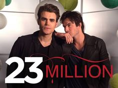 The Salvatore brothers would like to thank all 23 MILLION of you. #TVD